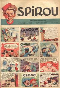 Cover Thumbnail for Spirou (Dupuis, 1947 series) #560