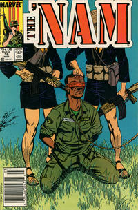 Cover Thumbnail for The 'Nam (Marvel, 1986 series) #16 [Newsstand]