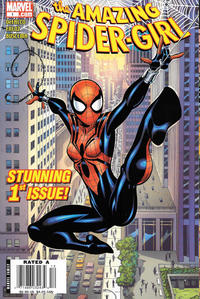 Cover Thumbnail for Amazing Spider-Girl (Marvel, 2006 series) #1 [Newsstand]