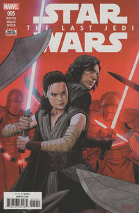 Cover Thumbnail for Star Wars: The Last Jedi Adaptation (Marvel, 2018 series) #5 [Paolo Rivera]