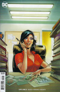 Cover Thumbnail for Lois Lane (DC, 2019 series) #5 [Mirka Andolfo Cover]