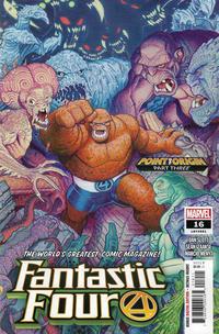 Cover Thumbnail for Fantastic Four (Marvel, 2018 series) #16 (661)