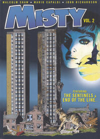 Cover Thumbnail for Misty (Rebellion, 2016 series) #2 - The Sentinels/End of the Line...