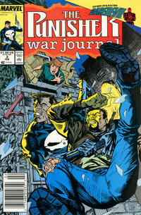 Cover Thumbnail for The Punisher War Journal (Marvel, 1988 series) #3 [Newsstand]