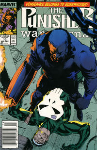 Cover Thumbnail for The Punisher War Journal (Marvel, 1988 series) #13 [Newsstand]