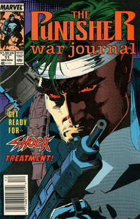 Cover Thumbnail for The Punisher War Journal (Marvel, 1988 series) #11 [Newsstand]