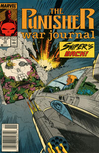 Cover Thumbnail for The Punisher War Journal (Marvel, 1988 series) #10 [Newsstand]