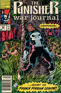Cover Thumbnail for The Punisher War Journal (Marvel, 1988 series) #20 [Newsstand]
