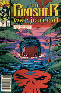 Cover Thumbnail for The Punisher War Journal (Marvel, 1988 series) #21 [Newsstand]
