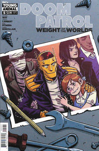 Cover Thumbnail for Doom Patrol: Weight of the Worlds (DC, 2019 series) #5
