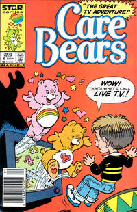 Cover Thumbnail for Care Bears (Marvel, 1985 series) #6 [Newsstand]