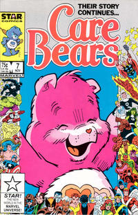 Cover Thumbnail for Care Bears (Marvel, 1985 series) #7 [Direct]