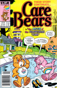 Cover Thumbnail for Care Bears (Marvel, 1985 series) #8 [Newsstand]
