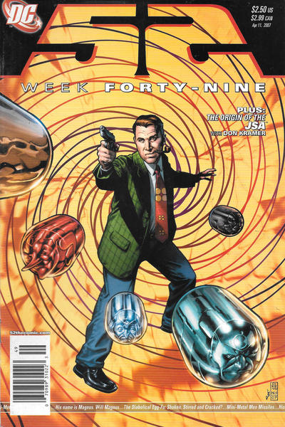 Cover for 52 (DC, 2006 series) #49 [Newsstand]
