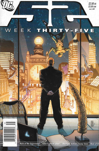 Cover for 52 (DC, 2006 series) #35 [Direct Sales]