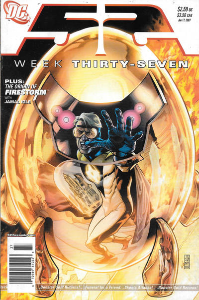 Cover for 52 (DC, 2006 series) #37 [Newsstand]