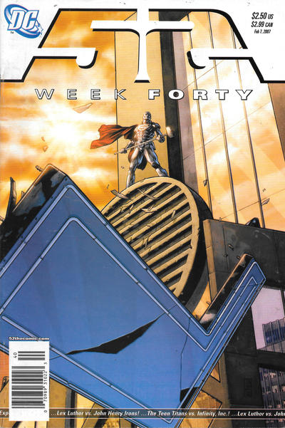 Cover for 52 (DC, 2006 series) #40 [Newsstand]