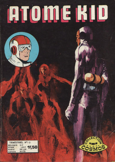 Cover for Atome Kid (Arédit-Artima, 1970 series) #10