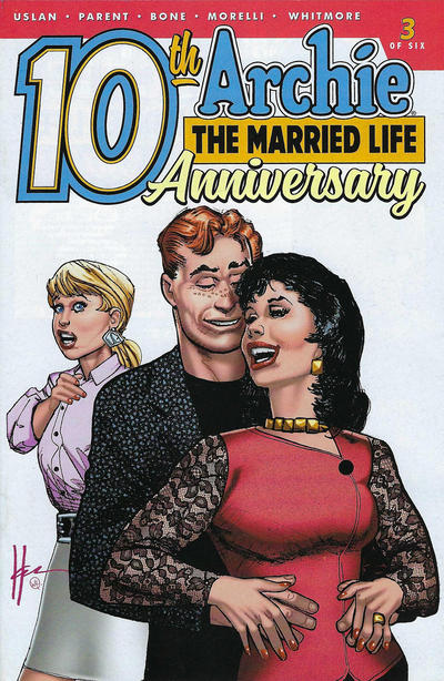 Cover for Archie: The Married Life - 10th Anniversary (Archie, 2019 series) #3