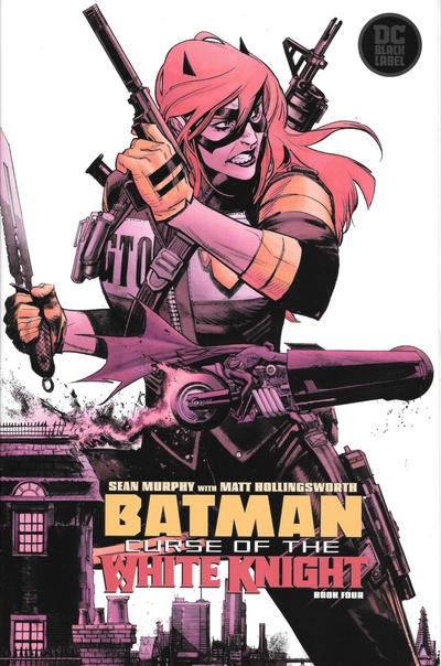 Cover for Batman: Curse of the White Knight (DC, 2019 series) #4