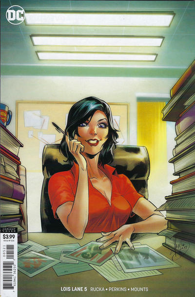 Cover for Lois Lane (DC, 2019 series) #5 [Mirka Andolfo Cover]