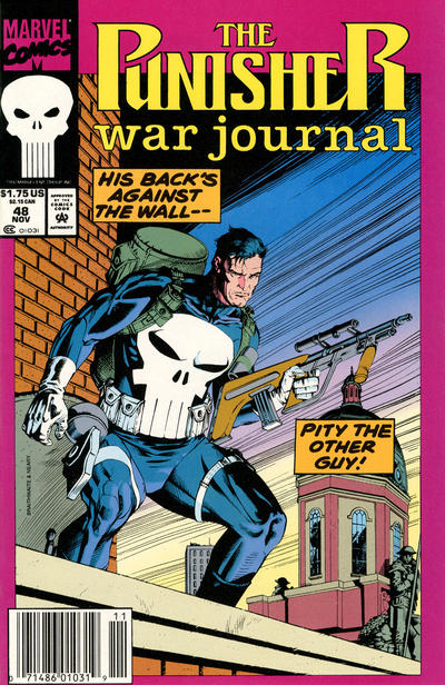 Cover for The Punisher War Journal (Marvel, 1988 series) #48 [Direct]