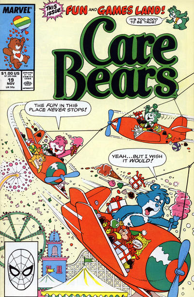 Cover for Care Bears (Marvel, 1985 series) #19 [Newsstand]