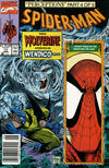 Cover for Spider-Man (Marvel, 1990 series) #11 [Newsstand]