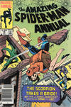 Cover for The Amazing Spider-Man Annual (Marvel, 1964 series) #18 [Canadian]