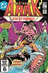 Cover for Arak / Son of Thunder (DC, 1981 series) #1 [British]