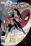 Cover for The Amazing Spider-Man (Marvel, 1999 series) #46 (487) [Newsstand]