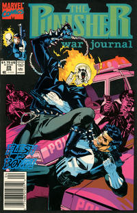 Cover Thumbnail for The Punisher War Journal (Marvel, 1988 series) #29 [Newsstand]