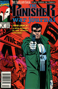 Cover Thumbnail for The Punisher War Journal (Marvel, 1988 series) #27 [Newsstand]