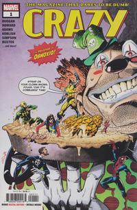 Cover Thumbnail for Crazy (Marvel, 2019 series) #1 [John McCrea & Michael Spicer]