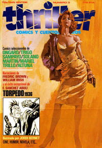 Cover Thumbnail for Thriller (Toutain Editor, 1984 series) #3