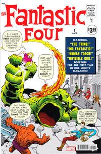Cover Thumbnail for Fantastic Four #1 Facsimile Edition (Marvel, 2018 series)