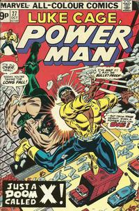 Cover Thumbnail for Power Man (Marvel, 1974 series) #27 [British]