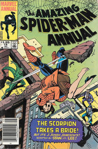 Cover Thumbnail for The Amazing Spider-Man Annual (Marvel, 1964 series) #18 [Canadian]
