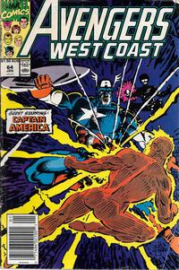 Cover Thumbnail for Avengers West Coast (Marvel, 1989 series) #64 [Australian]