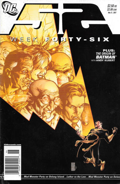 Cover for 52 (DC, 2006 series) #46 [Newsstand]