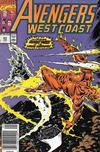 Cover for Avengers West Coast (Marvel, 1989 series) #63 [Australian]