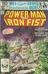 Cover for Power Man and Iron Fist (Marvel, 1981 series) #75 [British]