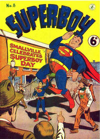 Cover for Superboy (K. G. Murray, 1949 series) #8