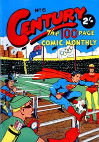 Cover Thumbnail for Century, The 100 Page Comic Monthly (K. G. Murray, 1956 series) #6