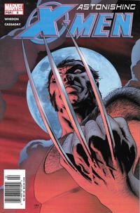 Cover Thumbnail for Astonishing X-Men (Marvel, 2004 series) #8 [Newsstand]