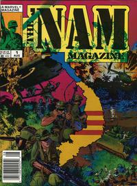 Cover Thumbnail for The 'Nam Magazine (Marvel, 1988 series) #1 [Newsstand]