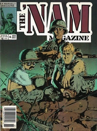 Cover Thumbnail for The 'Nam Magazine (Marvel, 1988 series) #6 [Newsstand]