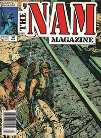 Cover Thumbnail for The 'Nam Magazine (Marvel, 1988 series) #10 [Newsstand]