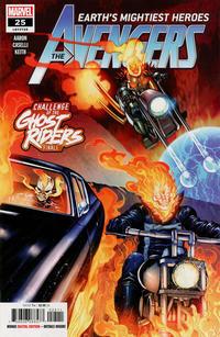 Cover Thumbnail for Avengers (Marvel, 2018 series) #25 (725)