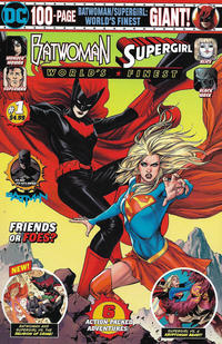Cover Thumbnail for Batwoman / Supergirl: World's Finest Giant (DC, 2019 series) #1 [Mass Market Edition]